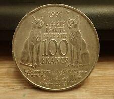 Pièce de 100 Francs Andrée Malraux en Argent de 1997