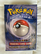 POKEMON TRADING CARD GAME (Factory Sealed Box) 2-PLAYER STARTER SET 1999 Edition