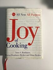 The Joy of Cooking 1997 Cookbook Irma S & Marion Rombauer, Ethan Becker food
