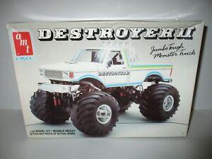 Destroyer II AMT Monster Truck Model Kit #6930 As Is