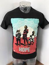 Mens Small OBEY Awareness HOPE For Darfur Classic Tee Shirt Streetwear