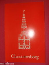 Christiansborg Denmark 1980 History From Absalon's Castle to 3rd Christiansborg
