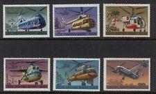 [ZZC-061] –   Russia  – 1980   -   Elicotteri     6  val.  **  MNH