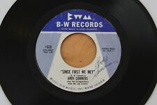 ANDY SOMMERS Since First We Met/Loving You 45 Unknown Ohio Country Bopper HEAR