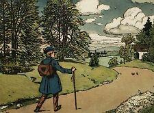 Scholz' Künstler-Bilderbücher - Kindersang - Heimatklang. Dt. Kinderlieder. 1906
