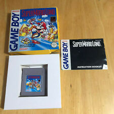 Nintendo Gameboy Boxed Game - Super Mario Land Complete
