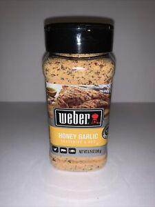 Weber Honey Garlic Seasoning & Rub Gluten Free 8.75 OZ Ounce 248 g Chicken Pork