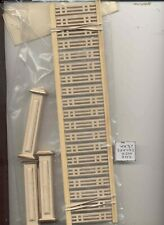Railing Kit -  LD2000 dollhouse 1/12 scale miniature USA GA unfinished wood
