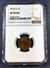 1914-D Lincoln Cent NGC XF40