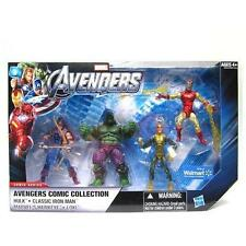 Marvel Universe The Avengers Comic Collection Walmart 4 Exclusive Figures New