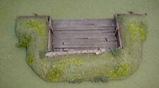 WARGAMES 15 mm ARTILLERY EMPLACEMENT Flames of War WW2 handmade by FAT FRANK