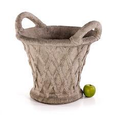 Pflanztopf Übertopf Sandstein Pflanzgefäss Blumentopf Stein Vase Kübel 482828