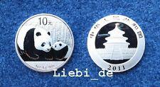 10 Yuan Silber China Silber Panda 2011 1 OZ
