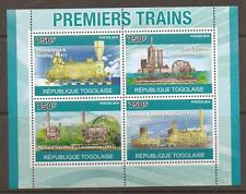 TOGO 2010 EARLY TRAINS S/SHEET MNH