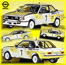 Opel Ascona B 400 Suédois Lacs 1980 Kullang Berglund #7 Opel Équipe 1:43 Schuco