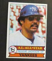 1979 Topps Baseball #100 Reggie Jackson - Yankees HOF