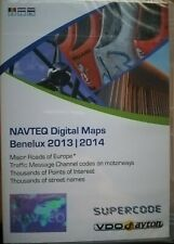 NAVTEQ / VDO DAYTON SUPERCODE C-IQ // BENELUX + MAJOR ROADS EUROPE 2013/2014