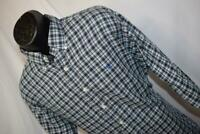 23240 Mens Polo Ralph Lauren Blake Long Sleeve Plaid Dress Shirt Size Large