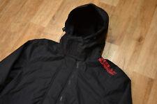 GENUINE MEN'S SUPERDRY 3ZIPS Polar Fleece Insulated Windcheater Jacket size M
