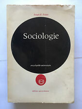 SOCIOLOGIE 1966 FICHTER ENCYCLOPEDIE UNIVERSITAIRE