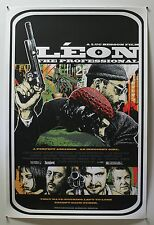 LEON - THE PROFESSIONAL - JAMES RHEEM DAVIS 2011 ART PRINT - #54 SIGNED *RARE