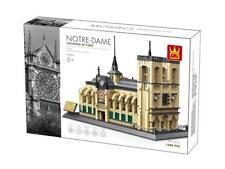 Notre-Dame Cathedral  Paris France Building Blocks Bricks - Wange