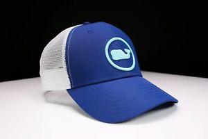 Vineyard Vines Whale Dot Performance Trucker Cap Hat One Size For Unisex