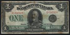 New ListingDominion of Canada $1 George V, Series 1923, Circulated