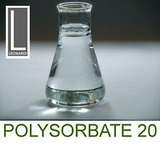 Polysorbate 20 Emulsifier Solubiliser  (Cosmetic Grade) (Tween20) 500ML 500g