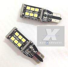 LAMPADE RETROMARCIA 13 LED T15 W16W CANBUS BMW X3 F25 6000K NO ERROR