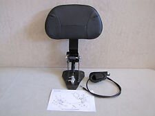 HARLEY DAVIDSON ORIGINAL RIDERS ADJUSTABLE BACKREST4 TOURING MODELS '97 - '08