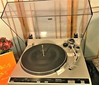 SEE VIDEO!! Technics SL-235 Vintage Fully Automatic Multiplay Record Changer