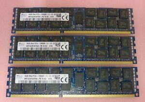 Hynix HMT42GR7AFR4A-PB 48GB (3x16GB) PC3-12800 DDR3-1600MHz ECC CL11 240P Memory