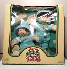 Vintage CABBAGE PATCH Limited Edition Twins with Box Exc. Condition!