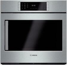 """Bosch Benchmark Series 30"""" 4.6 cu ft Single Electric Wall Oven Hblp451Ruc Pics"""