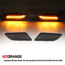 Sequential LED Side Marker Lights For Mercedes-Benz E350 E250 E300 E400 E550 E63