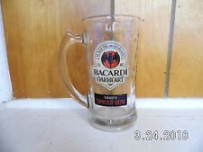 Bacardi Oakheart Smooth Spiced Rum Drinking Glass/Beer Mug