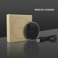 iPhone Xs/Max/XR/X/8P Power 10W Fast Charging Qi Wireless Charger Pad for Apple