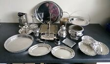 Job Lot of Antique & Vintage Silver Plated Items