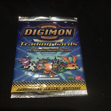 2000 Digimon Season 1 Trading Card Pack Include Extra Silver Holographic