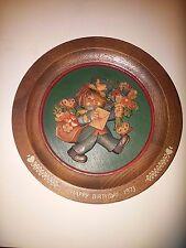 ANRI 1973 Happy Birthday Plate - Ferrandiz - Made in Italy