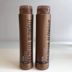 Brazilian Blowout Volume Shampoo Conditioner Duo 12 oz each   new fresh