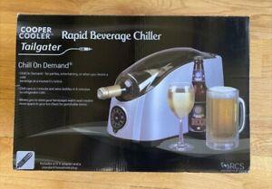 Cooper Cooler HC02.C Rapid Beverage Chiller / Tailgater - Brushed Silver