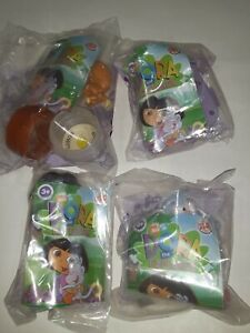 Dora the explorer Burger King  Lot Of 4 Sealed
