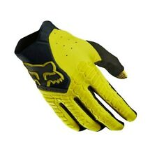 Fox Pawtector Motocross MX Off Road Race Gloves Dark Yellow Adult Small (8)