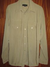 **LOOK** Lovely TED BAKER Men's Fawn Casual Shirt Size 4 (UK Size L 40 chest)