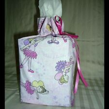 tissue box cover handmade cotton fabric teachers gift cat football ginger bread