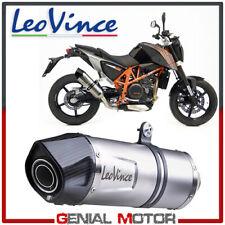 Exhaust Leovince Lv One Evo Stainless Steel Ktm 690 Duke 2012 > 2015