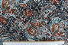 Viskose Jersey Druck, Paisley, Quality Textiles, Bunt, Breite 147cm