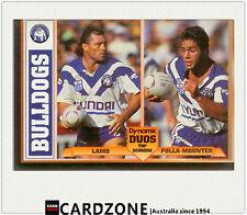 1994 Dynamic Rugby League Dynamic Duos Card Lamb/ Polla-Mounter - Bulldogs -RARE